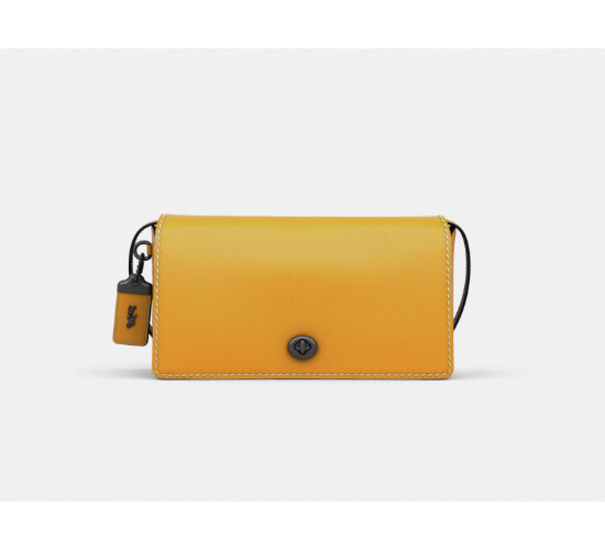 Coach Dinky in Glovetanned Leather