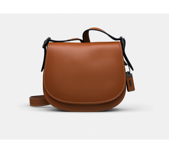 Coach Saddle 23 in Glovetanned Leather