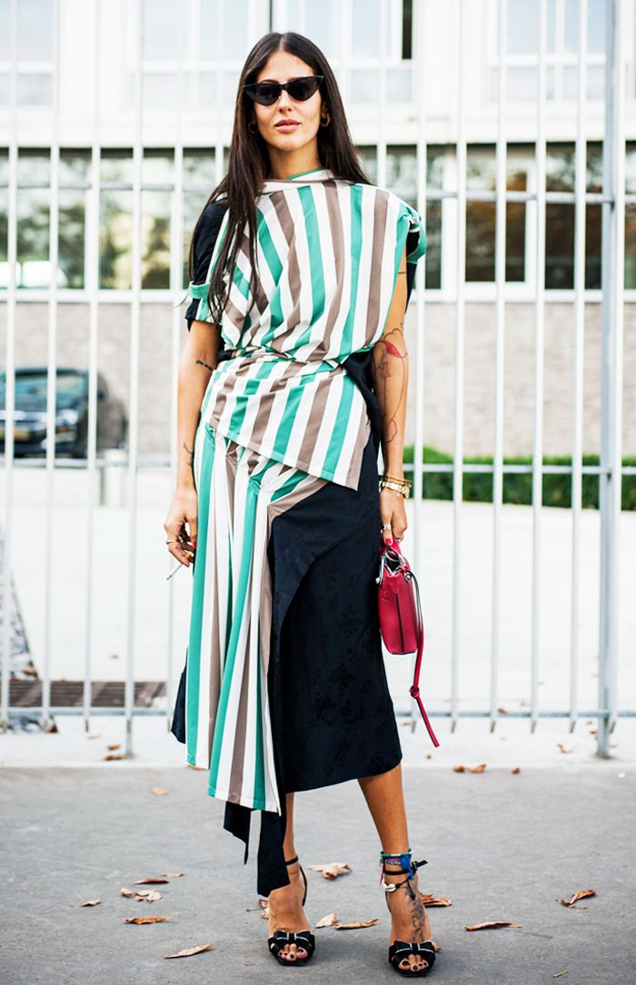 The Street Style Star Who Starts the Trends Everyone Else Copies