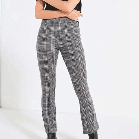 Casey Plaid Kick Flare Pant