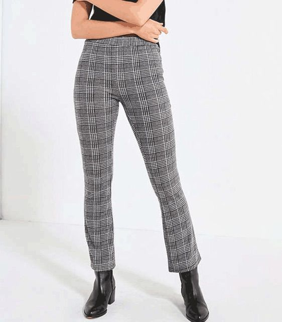 Malorie High-Rise Zipper Pant