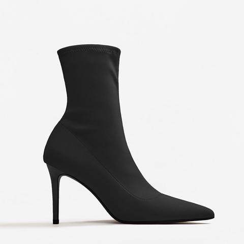 Heel Sock Boots