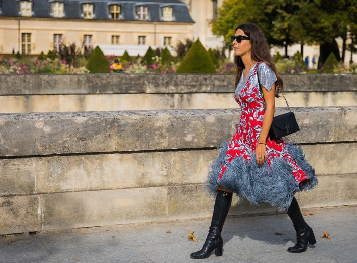 Holiday outfits with over-the-knee boots