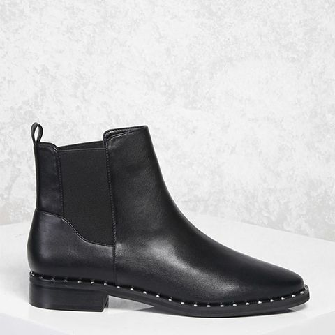 Studded Chelsea Boots