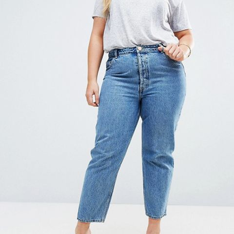 Recycled Florence Authentic Straight Leg Jeans in Mindy Vintage Blue Wash
