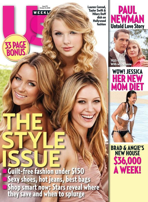 Taylor Swift Lauren Conrad Hilary Duff Us Weekly Cover