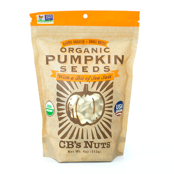 Organic Pumpkin Seeds by CB's Nuts