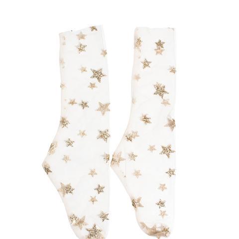 Amongst the Stars Tulle Socks