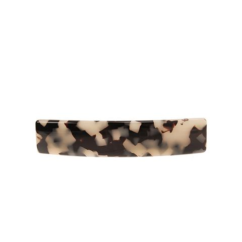 Mottled Classic Rectangle Barrette