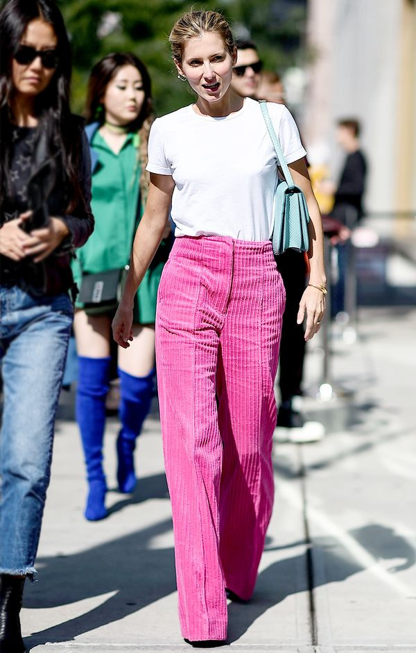 We need these pink cords in our life.