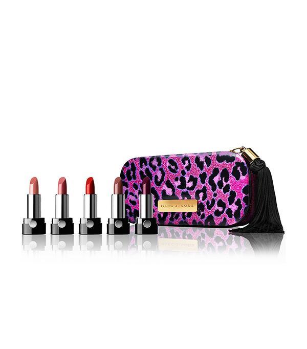 Lipstick gift sets: Marc Jacobs Cat's Meow 5-Piece Petite Le Marc Lip Crème Collection
