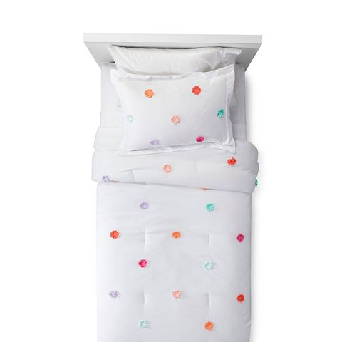 Pom Pom Comforter Set