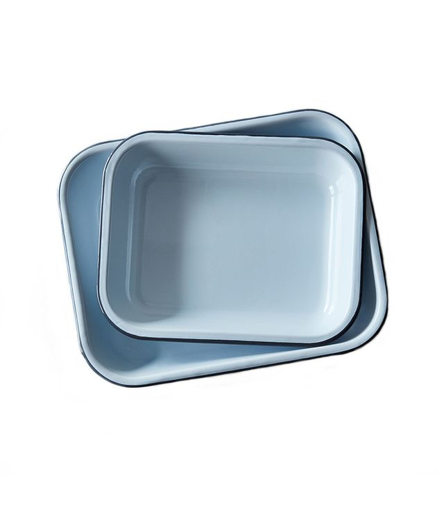 Crow Canyon Home Enamel Roasting Pans