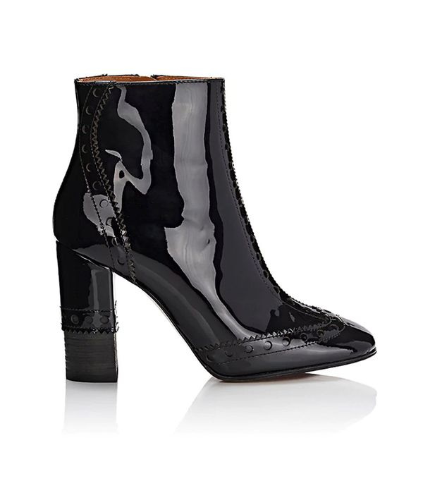 Women's Perry Patent Leather Ankle Boots