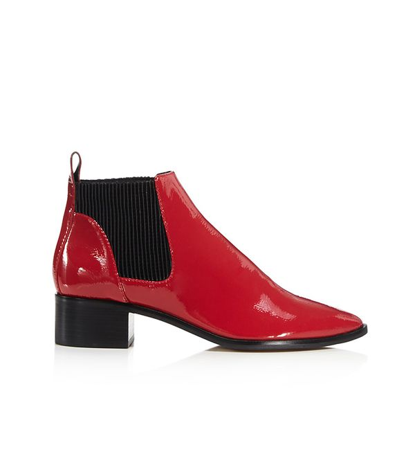 Macie Patent Leather Chelsea Booties - 100% Exclusive