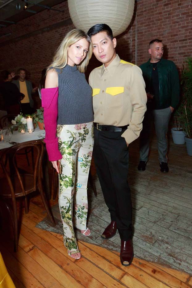 WHAT: Eternity Calvin Klein dinner celebration in New York WHO: Helena Bordon and Bryan Yambao