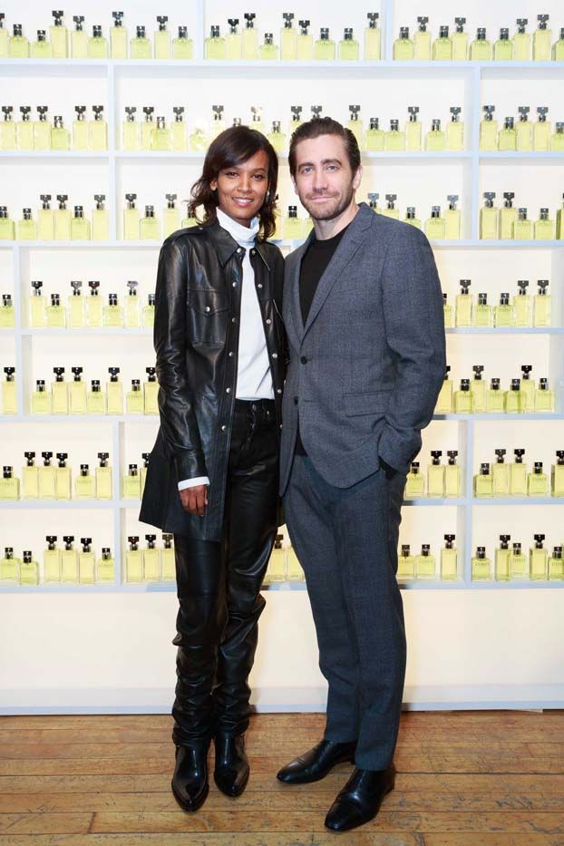 WHAT: Eternity Calvin Klein dinner celebration in New York WHO: Liya Kebede and Jake Gyllenhaal
