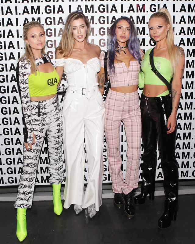 WHO: Stevie Cox, Jessica Michel, Sahara Ray, and Alana Pallister  WHAT: I.Am.Gia U.S. market launch celebration in Los Angeles WEARING: On Stevie Cox: I.Am.Gia Sirius...