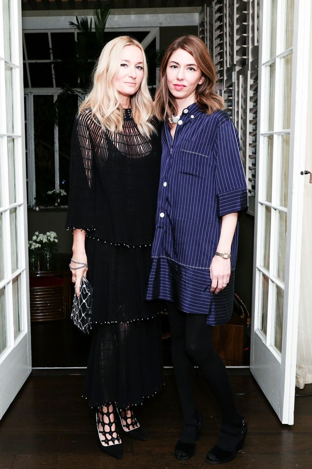 WHO: Julie de Libran and Sofia Coppola WHAT: An evening for Sonia Rykiel's California Moment, hosted Julie de Libran at Chateau Marmont in Los Angeles