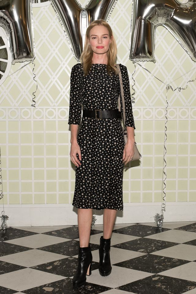 WHO: Kate Bosworth WHAT: Harley Viera-Newton hosted an afternoon tea to celebrate the fall and holiday collections of her line HVN. WEAR: HVN