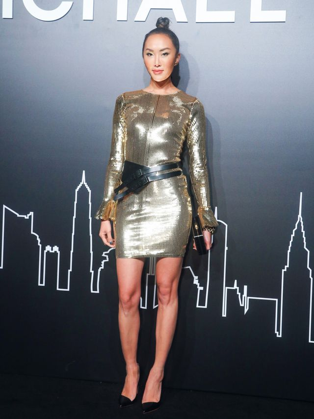 Who: Chriselle Lim WHAT: Michael Kors fashion party in Shanghai to celebrate Michael Kors The Walk