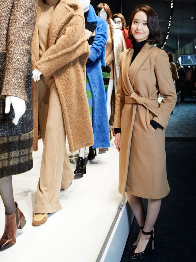 WHO: Yoona WHAT: Max Mara's Coats! exhibition at Dongdaemun Design Plaza in Seoil