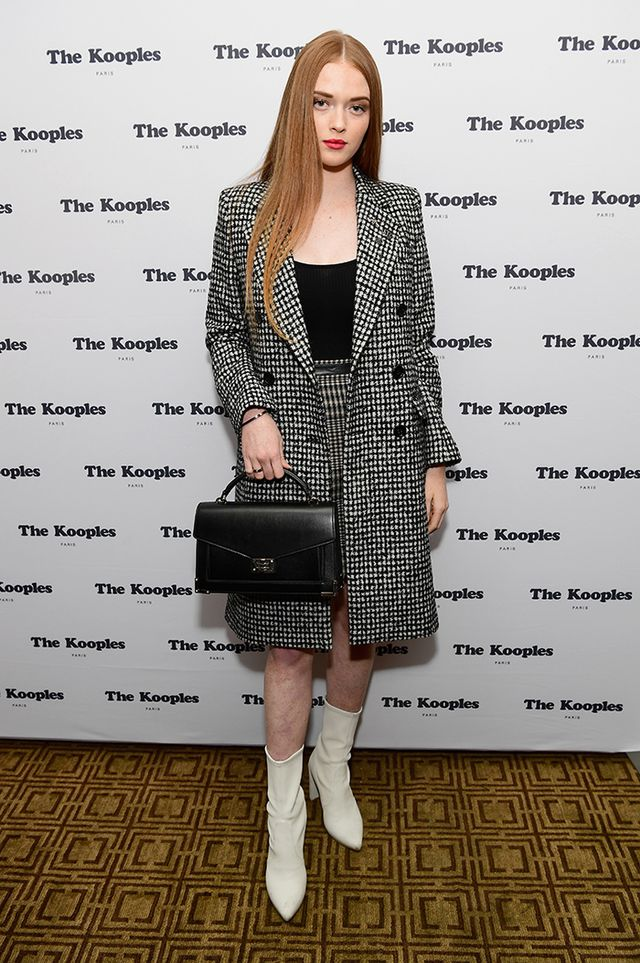WHO: Larson Thompson WHAT: The Kooples x Emily Ratajkowski S/S 18 handbag collection party at the Chateau Marmont in Los Angeles WEAR: The Kooples