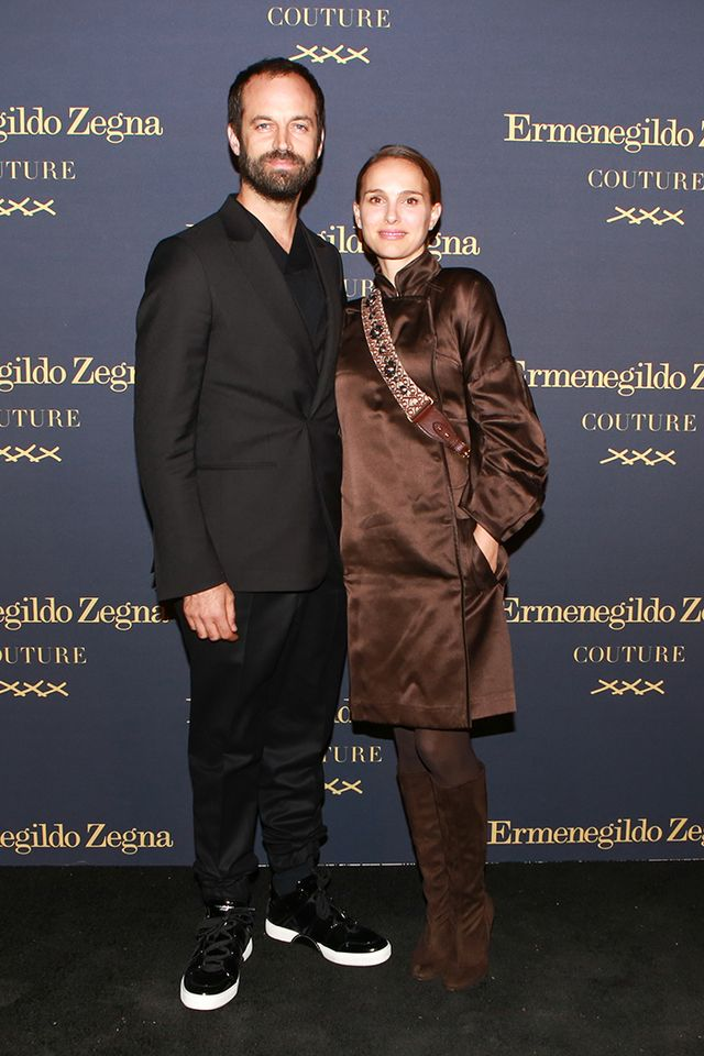 WHO: Natalie Portman and Benjamin Millepied WHAT: Ermenegildo Zegna celebrated the launch of the Ermenegildo Zegna Couture XXX Collection with artistic director Alessandro Sartori, his...