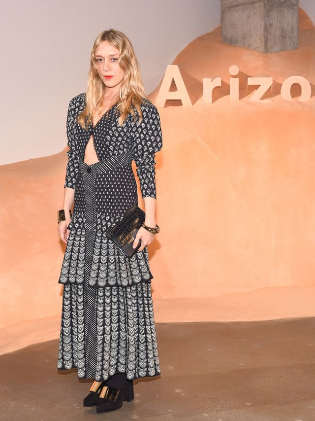 WHO: Chloë Sevigny WHAT: Proenza Schouler celebrates the launch of its first fragrance, Arizona, during New York Fashion Week. WEAR: Proenza Schouler