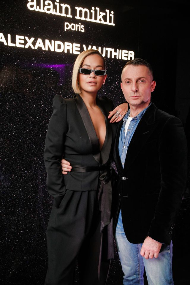WHO: Rita Ora and Alexandre Vauthier WHAT: Alain Mikli x Alexandre Vauthier launch party WEAR: On Rita Ora: Alexandre Vauthier blazer and pants; Alain...