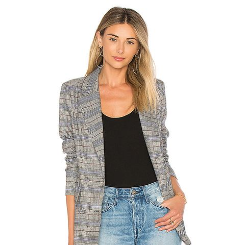 Rhea Blazer in Gray