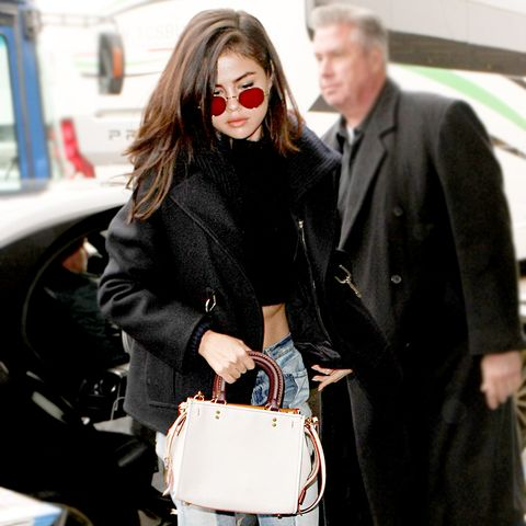 9 Airport Outfits Celebs Are Wearing Now