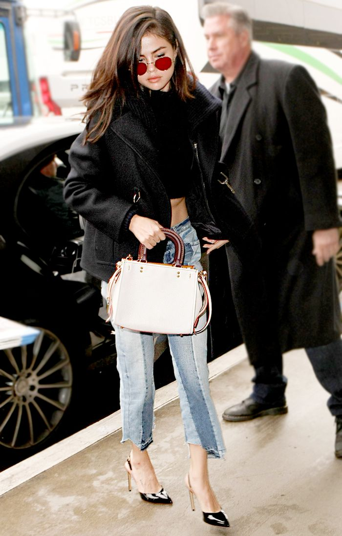 9 Airport Outfits Celebs Are Wearing Now Who What Wear