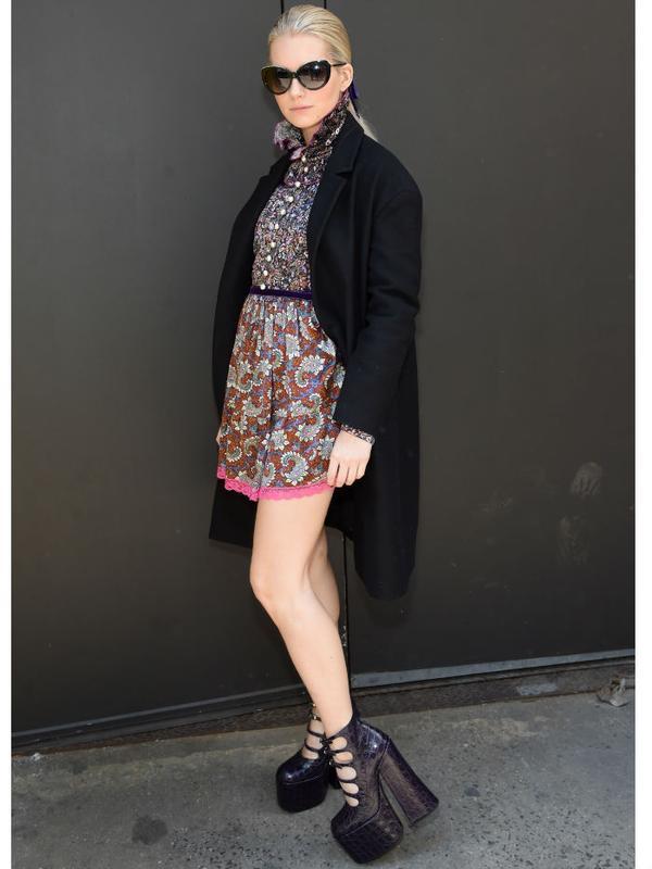Lottie Moss style