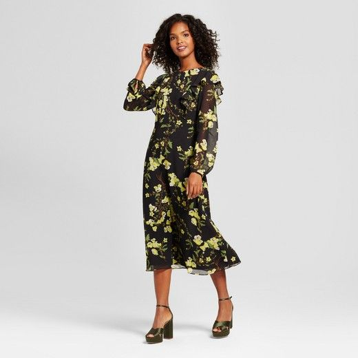 Flutter Shoulder Dress-