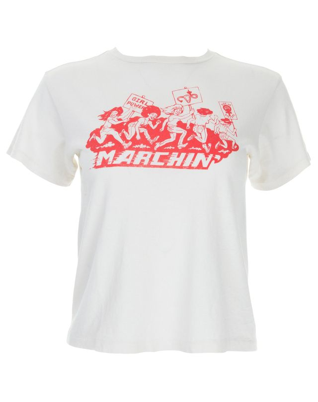 Re/Done Marchin' Graphic Tee