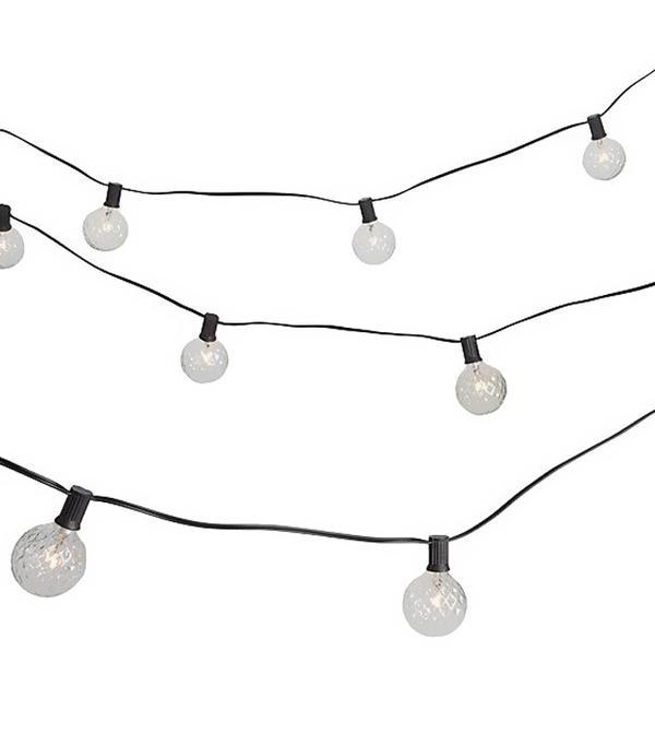 cut glass string lights