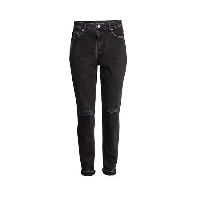 H&M Boyfriend Slim Low Jeans