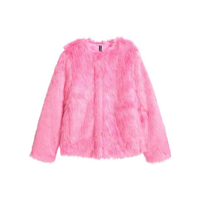 H&M Faux-Fur Jacket
