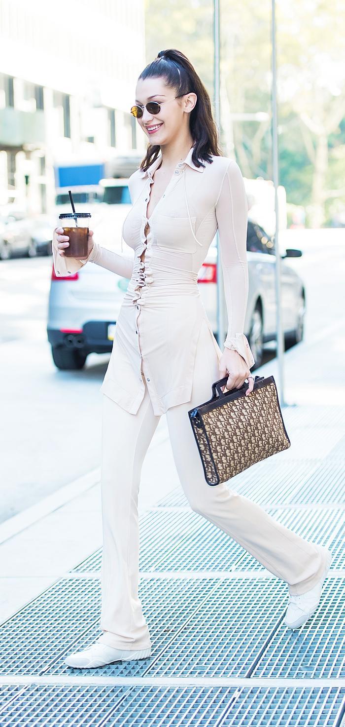 Bella Hadid vintage Dior Briefcase