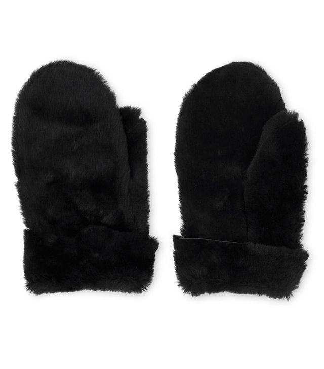 Whistles Gift guide: Shearling mittens