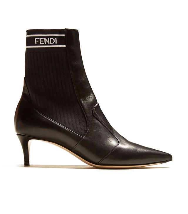 Fendi Point Toe Sock Boots
