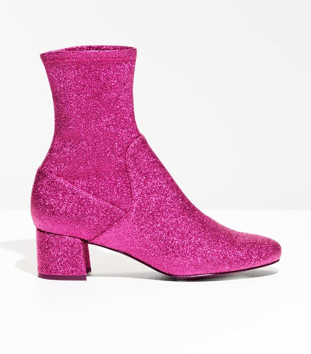 & Other Stories Pull-On Sparkle Boots