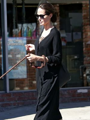 Angelina Jolie Wore the Comfortable, Affordable Heels Fashion Girls Want