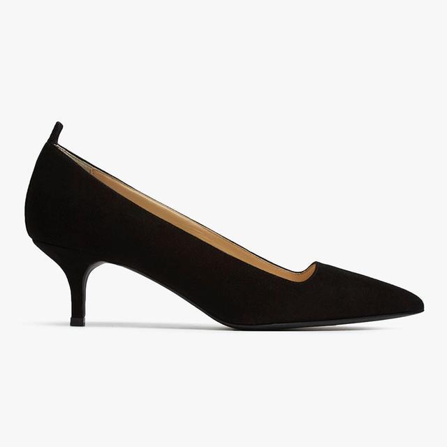 Women's Kitten Heel by Everlane in Black, Size 10.5