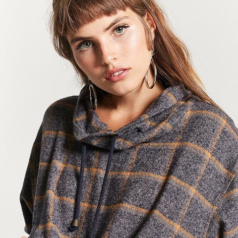 Boxy Plaid Pullover