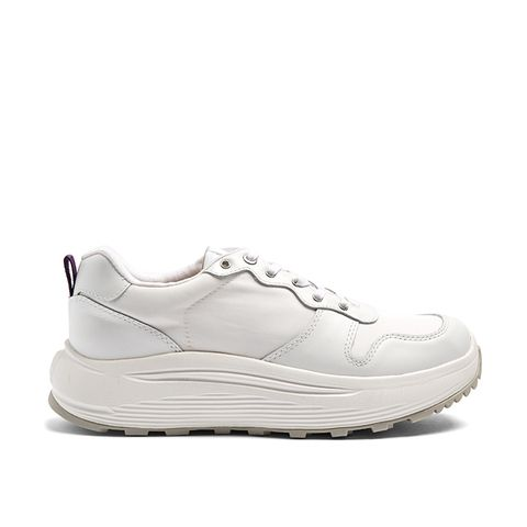 Jet Low-Top Leather Trainers