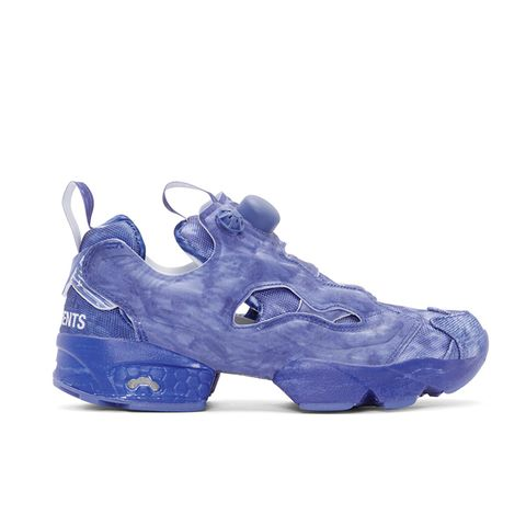 Blue Reebok Edition Instapump Fury Sneakers