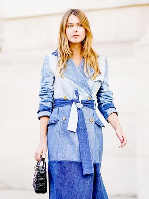 Every Cool Girl Is Wearing This Surprising Denim Trend