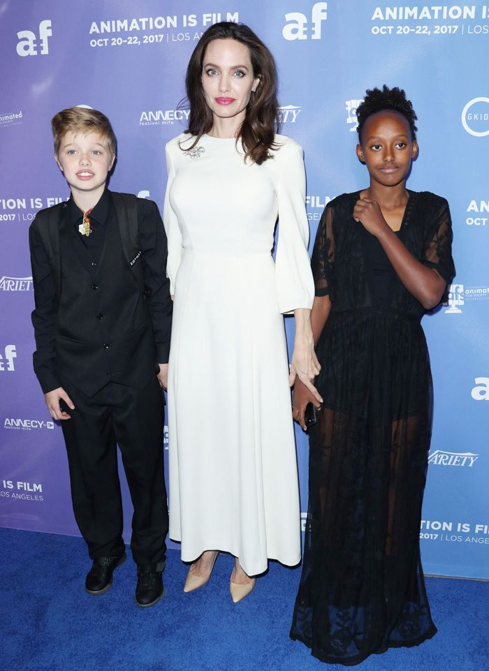 Angelina Jolie Kids on the Red Carpet